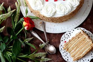 Süt Reçeli pasta kreması